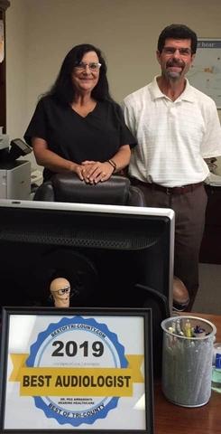 Peg Armanini's Hearing Healthcare LLC, Best Audiologist Tri-County Winner 2019